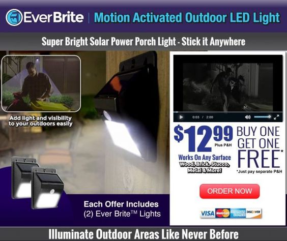 Ever brite is an as seen on tv security light which is solar ever brite is an as seen on tv security light which is solar powered and gets brighter when it detects motion read our ever brite light review her mozeypictures Image collections
