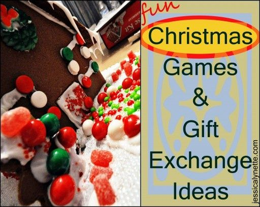 Christmas Games  Gift Exchange Ideas