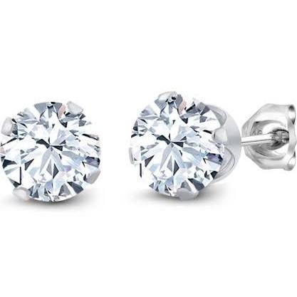 cs sterling silver stud earrings - Google Search