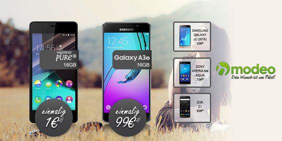 Modeo: klarmobil Sondertarif + Smartphone ab 1,00 € #rabatt #modeo #sale #gutscheinlike #smartphone #sondertarif #gutschein