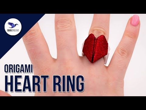 Origami Heart Ornament Folding Instructions | Origami Instruction | 360x480