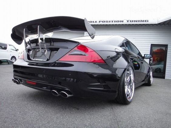 2011 Mercedes CLS 55 AMG by Pole Position Tuning