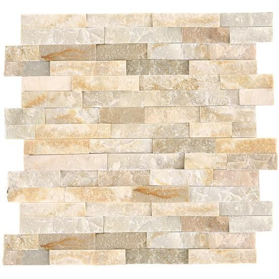 Stacked Stone Natural Stone Tile American Olean With Images Stacked Stone Natural Stone Tile Stone