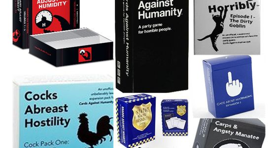 Building The Cards Against Humanity Game Mega Deck