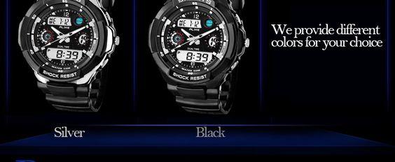 (ALIKE) AK1170 50M Waterproof Analog-digital Watch