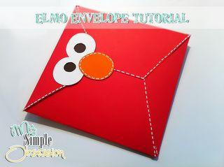Elmo envelope