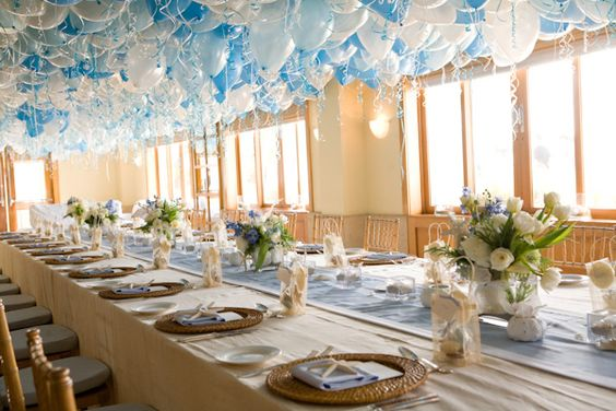 Cute Table Scape for Baby Shower or Party