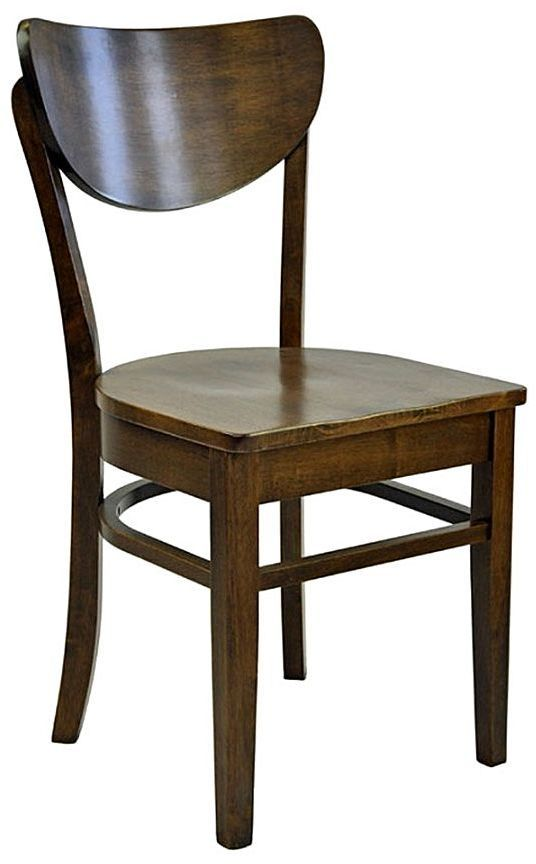 Multi Dining Chairs Austin Wooden Dining Chair, Walnut Wooden Seat