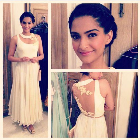 Sonam Kapoor....love the back! love it all!