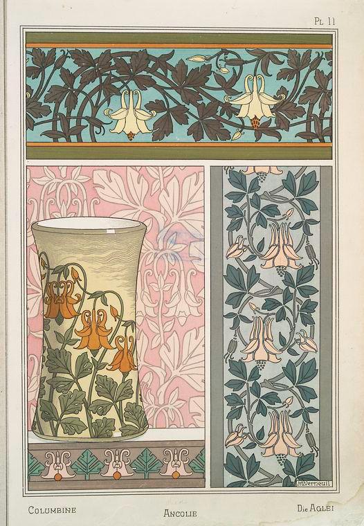 Ancolie Creator(s): Grasset, Eugène, 1841-1917 -- Compiler  Verneuil, M. P. (Maurice Pillard), 1869- -- Artist: