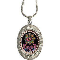 Native Design Colourful Locket