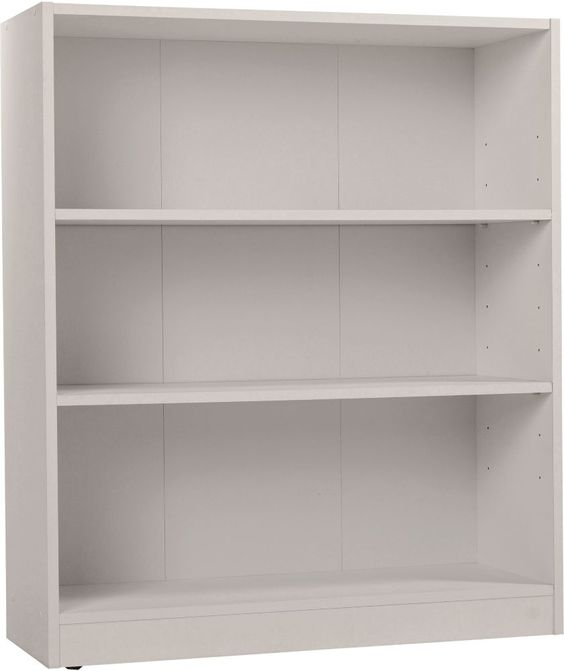 Maine Small Extra Deep Bookcase Putty At Argos Co Uk Your