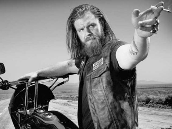 "Opie Winston from FX's ""Sons of Anarchy,"" played by Ryan Hurst.:"