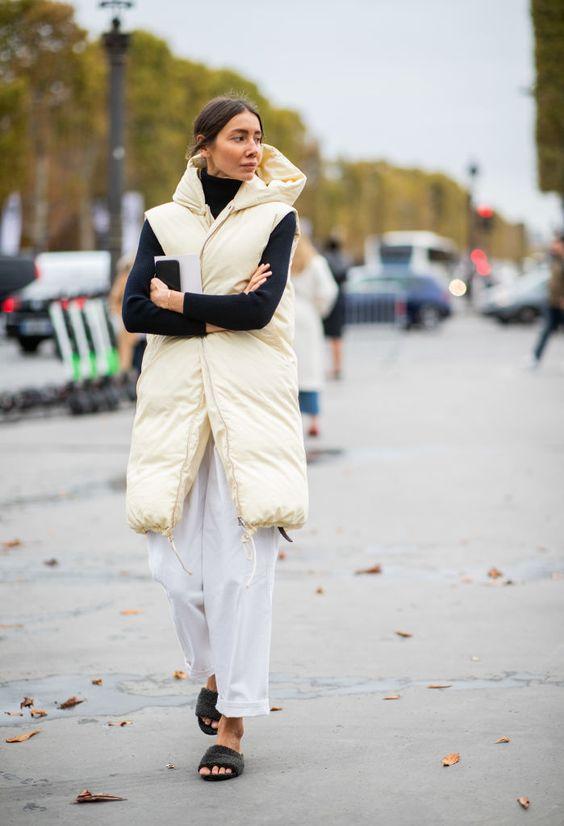 Pantalones blancos en invierno: cómo combinarlos | Beni Room