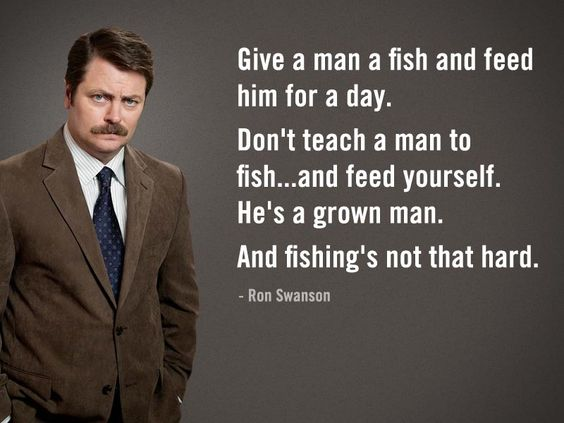 Oh, Ron.