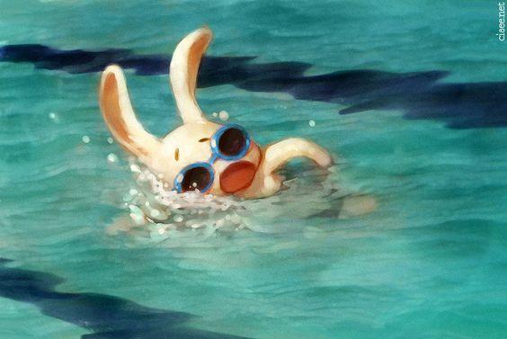 Ciaee Ching - Swim, Rabbit! Swim!