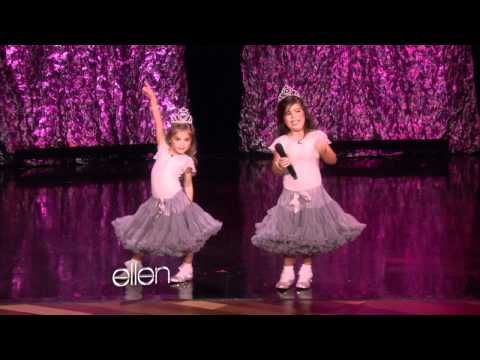Sophia Grace and Rosie rapping!