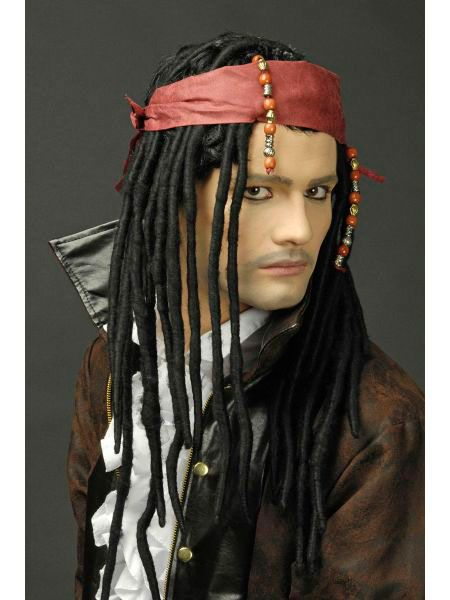Https 11ter11ter De 18432373 Html Herren Rasta Perucke Pirat Mit Stirnband Und Perlenschmuck 11ter11ter Haare Perucke Stirnb Perucken Piraten Stirnband