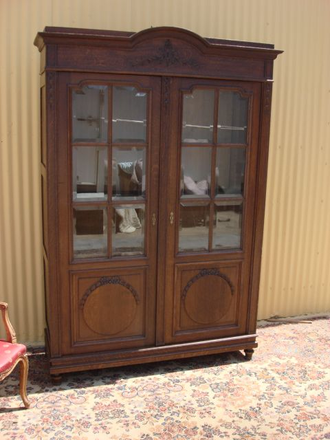 French Display Cabinet or Bookcase- We have one almost like this....