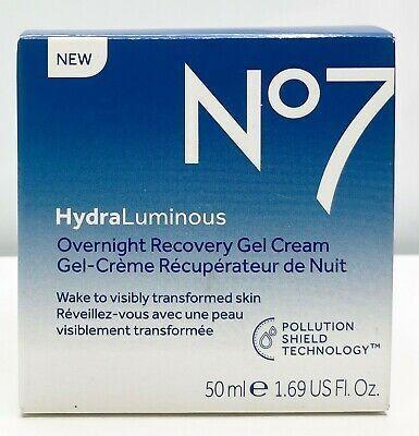 No7 Hydraluminous Overnight Recovery Gel Cream In 2020 Gel