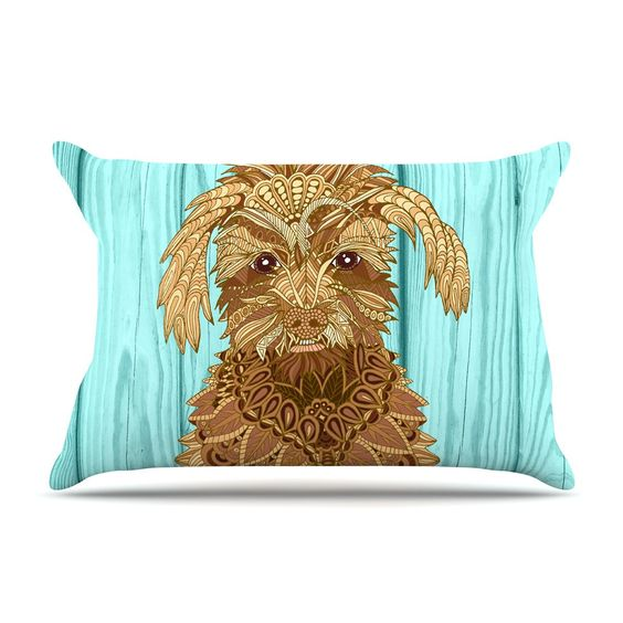 Gatsby the Great by Art Love Passion Dog Cotton Pillow Sham