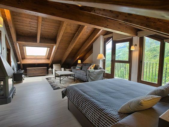 19 Dreamy Attic Loft Bedroom Decoration Ideas Attic Bedroom Designs Attic Loft Bedroom Bedroom Design