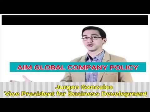 Aim Global Company Policy Explained By Jurgen Gonzales Audio