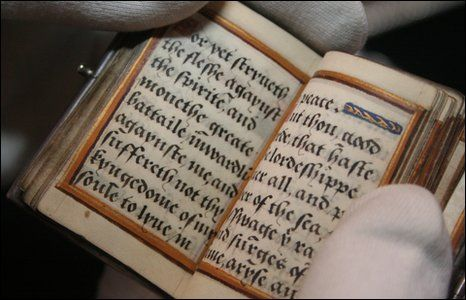 Catherine Parr's Silver Prayer Book  The book was written by Catherine in her own hand.     It is currently held in the Kendal City Hall