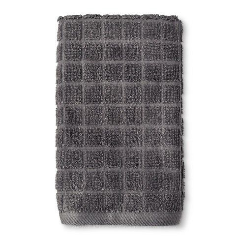 Everyday Grid Bath Towel Room Essentials Room Essentials