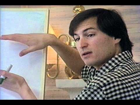 Steve Jobs building NeXT \/ Steve Jobs in 1987, as he left Apple - jobs that are left