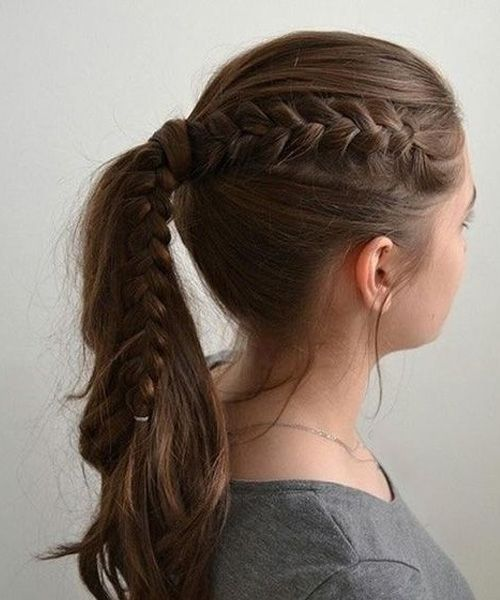 Cutest Easy School Hairstyles For Girls 1 Girls School Hairstyles Medium Hair Styles Hair Styles
