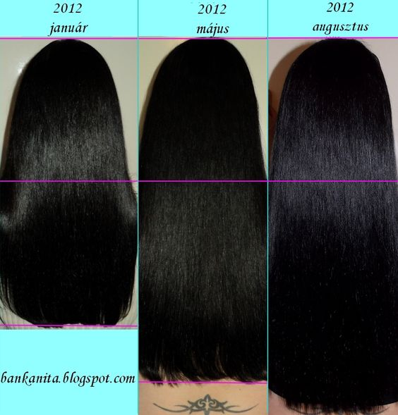 Jamaican Black Castor Oil Before And After Natural Hair
