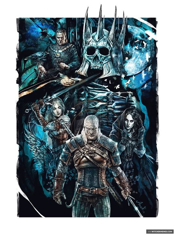 Witcher art