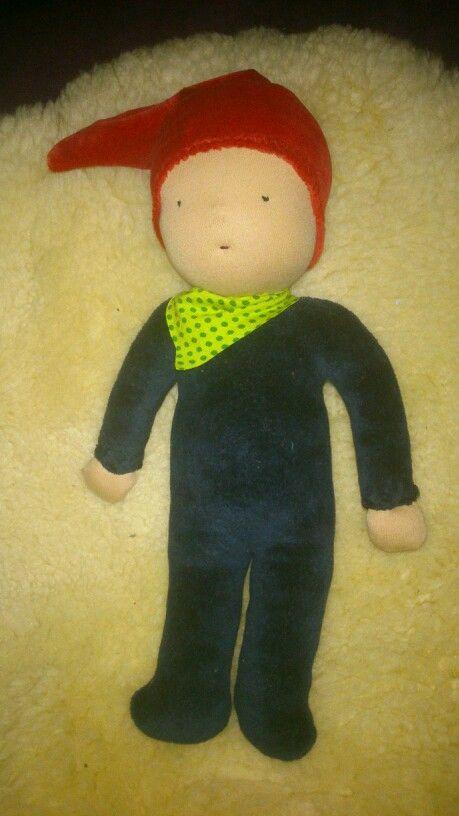 Ein Puppenzwerg, Schnittmuster etc. Alles selbst gemacht!!!!