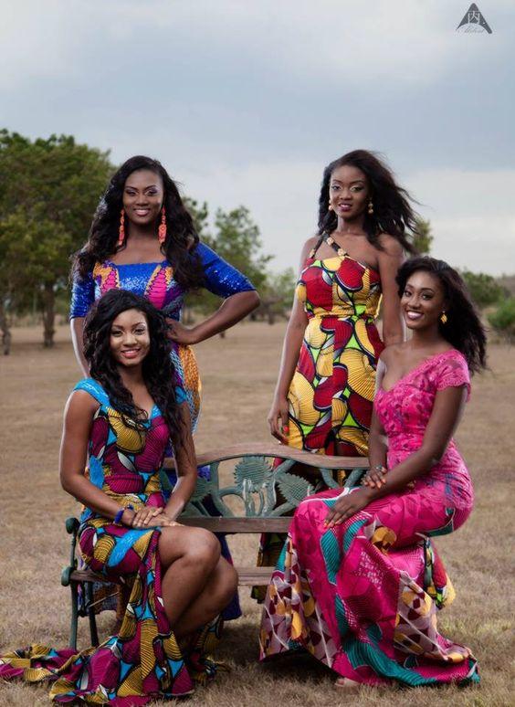 Wonderful African Fashion Images Of Ghana's Miss Malaika 2015 Contestants ~African fashion, Ankara, kitenge: