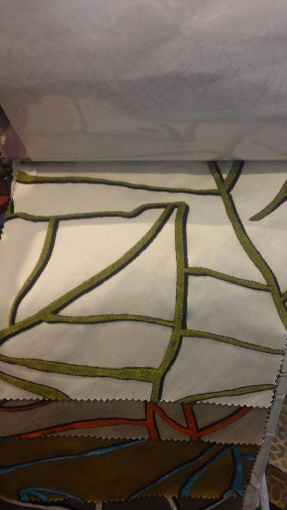 Beautiful fabric by Lelievre. #lelievre #fabrics