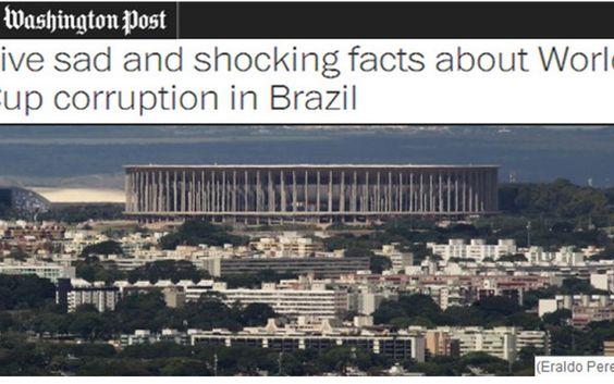 Um dos jornais mais conceituados do mundo cita estádio brasileiro como campeão de gastos absurdos e superfaturamento   Disso Voce Sabia?