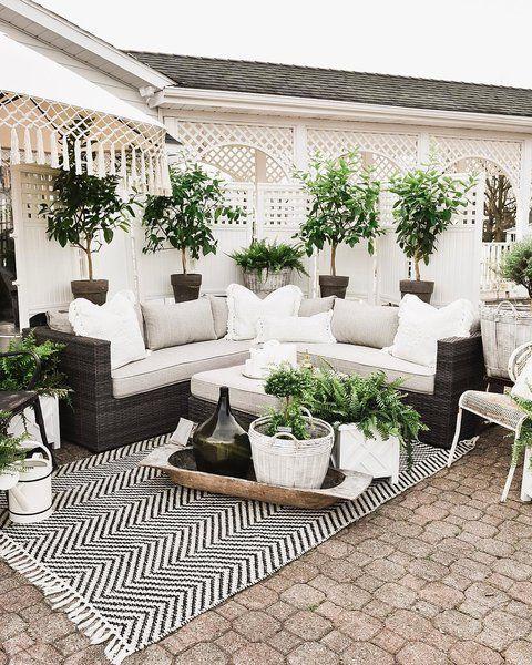 Eclectic Outdoor Design Outdoor Patio Decor Patio Makeover Farmhouse Patio