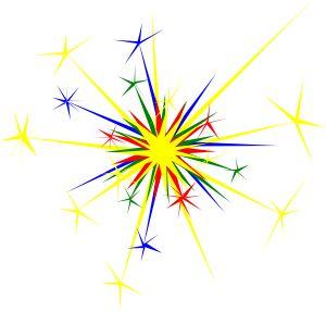 Clip Art Sparkle Clip Art newnhamm multicolored sparkle clip art vector online royalty free public domain