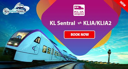 Klia Express Train Tickets Now Available Online At Busonlineticket Com