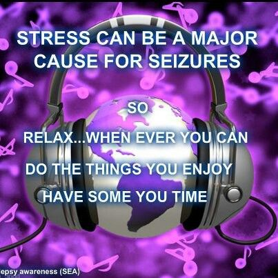 So true....stress can be a major trigger.