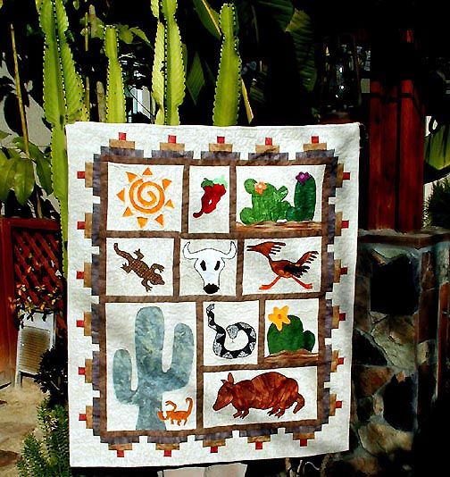 southwestern quilt patterns | Southwestern Quilts