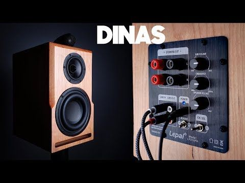 Diy Speaker With Subwoofer Hits Down To 35 Hz Dinas Active