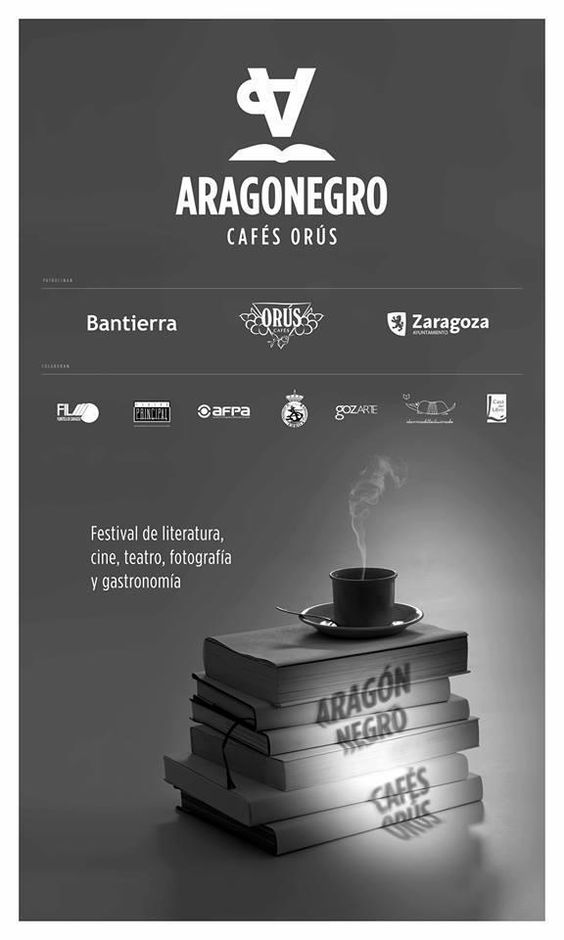 Cartel Aragon Negro 2014: