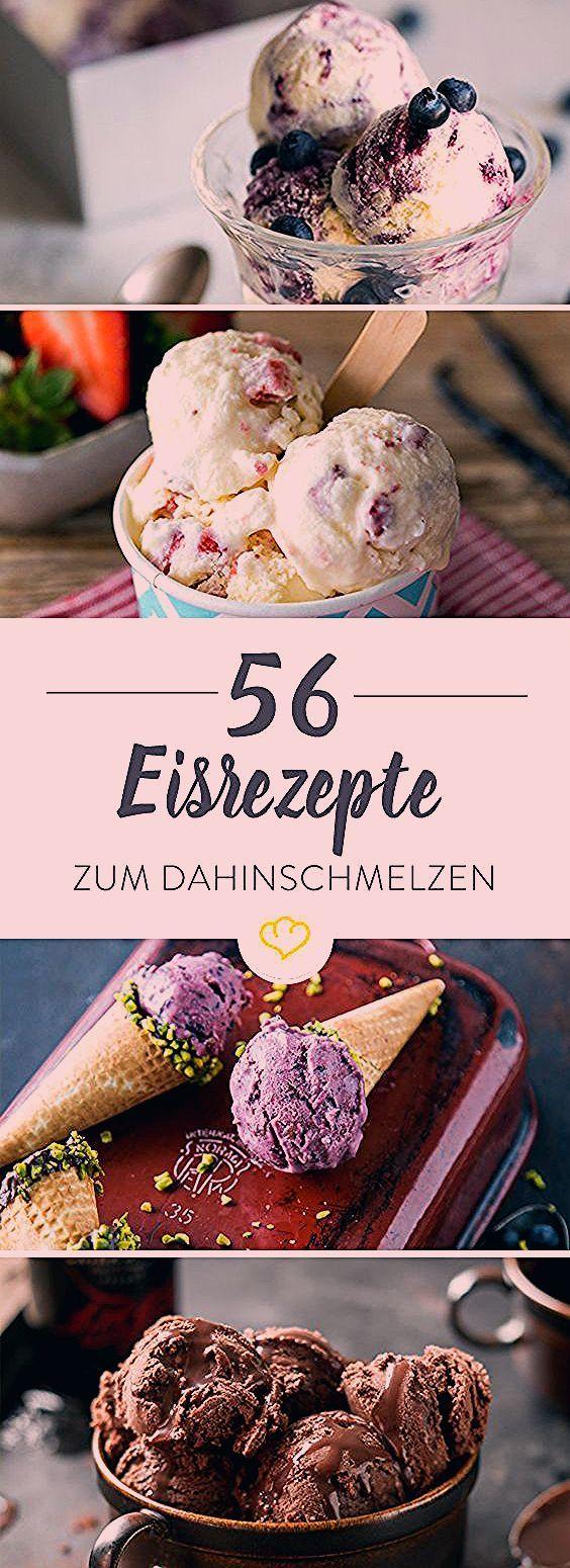 Eisrezepte Mit Und Ohne Maschine Die 56 Leckersten Ideen Homemade Cake Recipes
