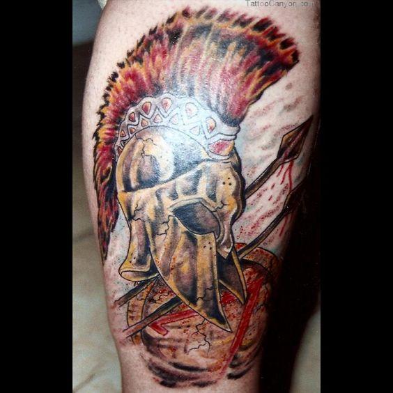 Spartan warrior, Warrior tattoos and Tattoo designs on ...