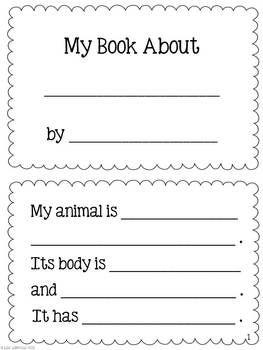 animal nonfiction book report
