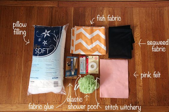 Baby sushi halloween costume how-to supplies