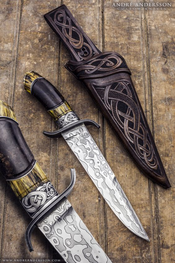 Balders Bowie | André Andersson Custom Knives