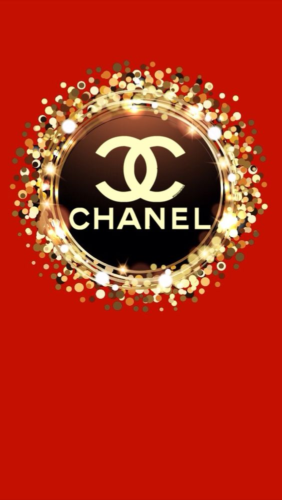 chanel red iphone wallpaper wallpapers by me